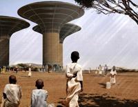 водяные небоскребы Судана