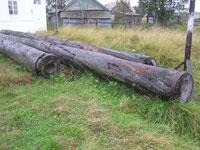 Деревянный трубопровод