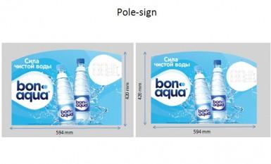 Новая Bonaqua (Pole Sign)