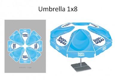Новая Bonaqua (Зонт)
