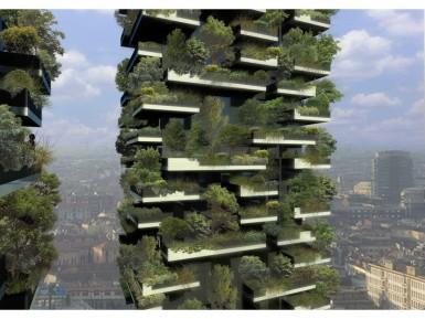 Зеленые небоскребы Bosco Verticale