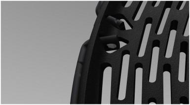 Фрагмент колеса мотоцикла Honda 1+