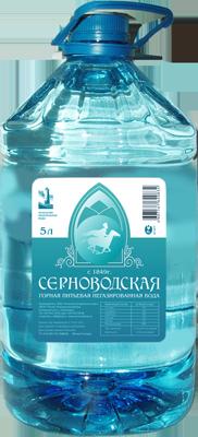 Вода «Серноводская», ПЭТ 6 литров