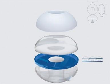Конструкция фильтра-контейнера Water Tube