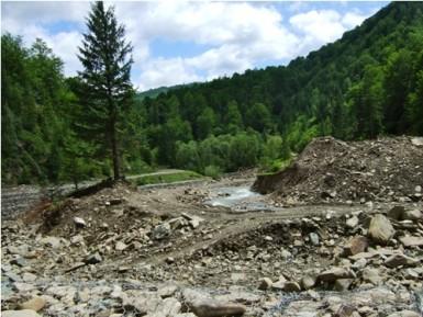 Последствия постройки мини-ГЭС в Карпатах