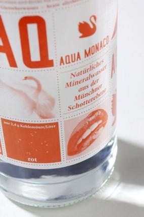 Вода Aqua Monaco, сильно газированная