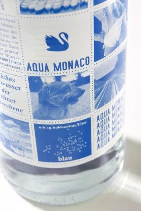 Вода Aqua Monaco, слабо газированная