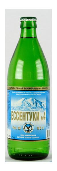 Минеральная вода Ессентуки №4