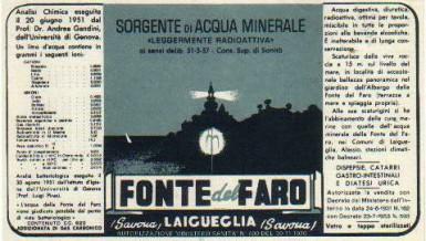Fonte del Faro