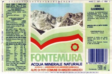 Этикетка Fontemura