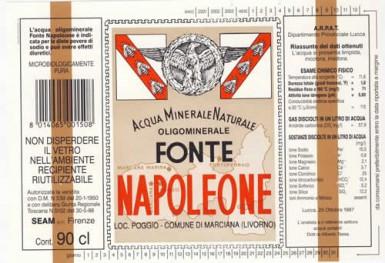 Этикетка Fonte Napoleone