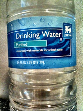 Food Lion Drinking Water