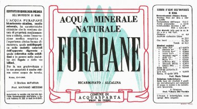 Этикетка Furapane
