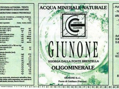 Этикетка Giunone