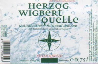 Herzog Wigbert Quelle