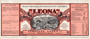 Этикетка Leona