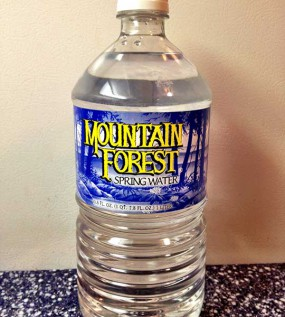 Mountain Forest Spring Water