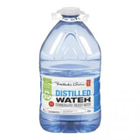 No Frills Distilled Water