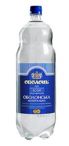 Оболонская вода - старая бутылка