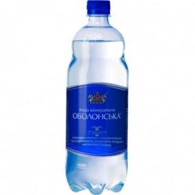 Оболонская вода - старая упаковка
