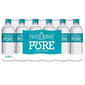 Our Compliments Pure Spring Water
