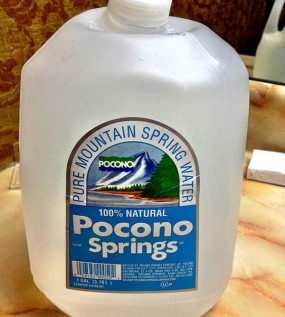 Pocono Springs Pure Mountain Spring Water