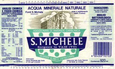 Этикетка S. Michele