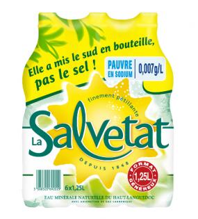 Упаковка воды Salvetat