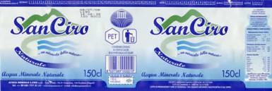 Этикетка San Ciro