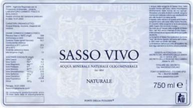 Этикетка Sassovivo