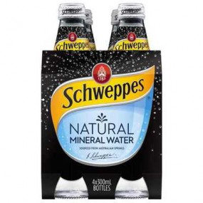 Schweppes Natural Mineral Water