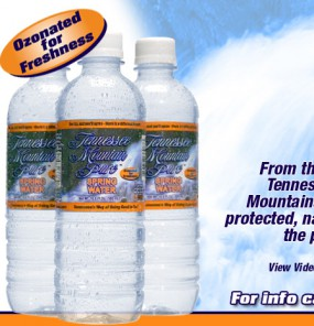 Tennessee Mountain Pure Spring Water