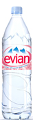 Бутылка воды Evian
