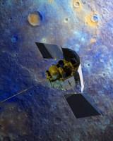 Мессенджер возле Меркурия