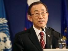 Пан Ги Мун, ООН