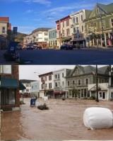 Наводнение после урагана Ирэн