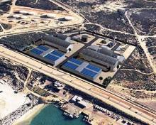 Завод по опреснению морской воды в Ашкелоне