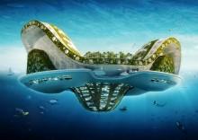Плавающий город «Кувшинка» (Lilypad)