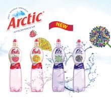 Новый дизайн воды Arctic с одуванчиком