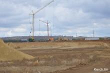 Строительство нового цементного завода под Керчью