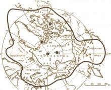 Арктика карта