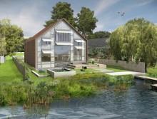 Первый в истории Великобритании «плавучий» дом