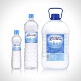 Новый дизайн этикеток для детской воды Бабушкино лукошко