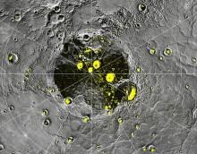Меркурий. снимок с зонда Messenger