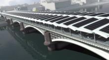 Мост в Лондоне, вырабатывающий электричество