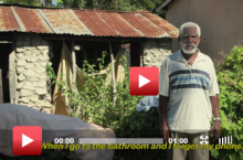 Cоциальная реклама, призывающая жертвовать средства на доставку чистой воды в страны третьего мира