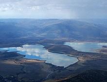 Чернореченское водохранилище обмельчало