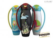 Бутылка для воды в форме пингвина