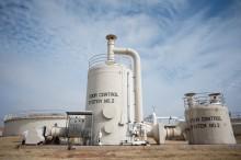 Станция по очистке сточных вод в Техасе