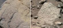 Камни на планете Марс